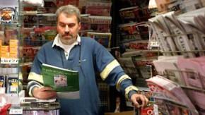 Pariser Zeitungsverkäufer