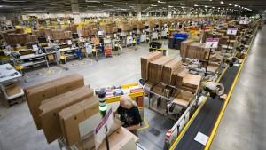 Deutsche Amazon-Mitarbeiter streiken