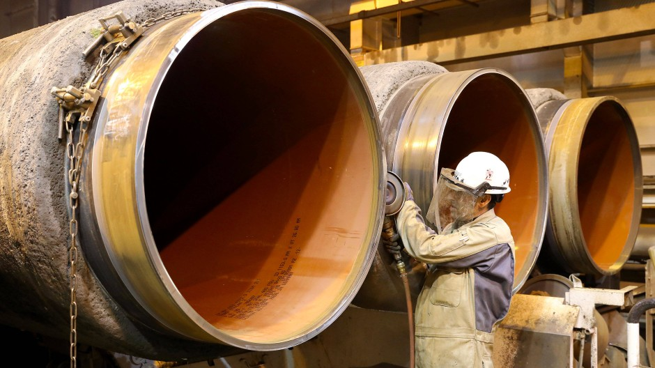 Mit der Genehmigung aus Dänemark steht die insgesamt rund 2500 Kilometer lange Pipeline vor der Vollendung.