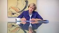 Worte bewirken nicht immer das, was man beabsichtigt: Die britische Premierministerin Theresa May bereitet eine Rede vor.