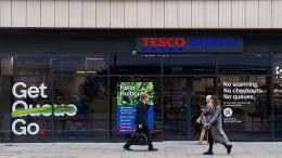 Britische Handelskette Tesco eröffnet ersten Supermarkt ohne Kassen