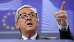 Juncker: Alles war legal