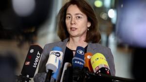 Deutsche Justizministerin stellt Facebook-Vertreter zur Rede