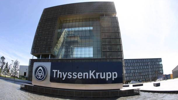 Thyssen-Krupp schaltet den alten Vorstand ab