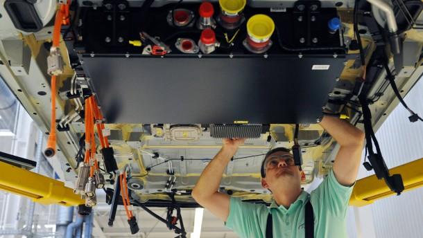 Daimler - Produktion B-Klasse F-CELL