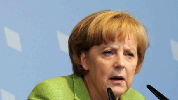 Merkel beschuldigt amerikanische Regierung