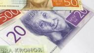 Astrid Lindgren auf dem Geldschein