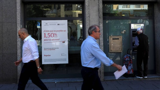 Notübernahme der spanischen Krisenbank Popular