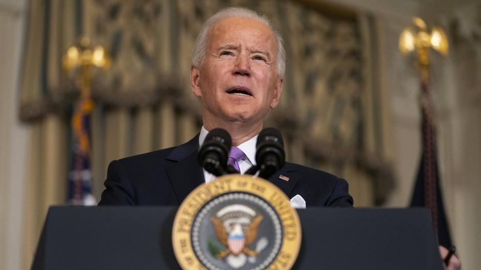 Der amerikanische Präsident Joe Biden