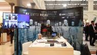 """Die Konferenz """"Rise of AI"""" ist teils auch KI-Messe."""