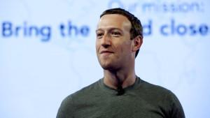 Zuckerberg schlägt zurück