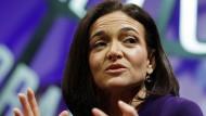 Sheryl Sandberg ist die ranghöchste Managerin im Facebook-Reich.