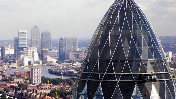 Londons Gurke geht das Geld aus