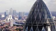 "Londons Büroturm ""Gherkin"": Die Safra Group soll 925 Millionen Euro gezahlt haben"