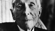 John D. Rockefeller (1839-1937): Das Bild zeigt den Milliardär Anfang der 1930er Jahre.