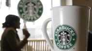 Wenn die App den Kaffee bei Starbucks vorbestellt