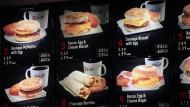 Restaurants müssen Kalorienzahl auf Speisekarte zeigen