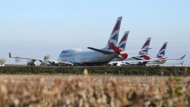 British Airways will bis zu 12.000 Stellen streichen