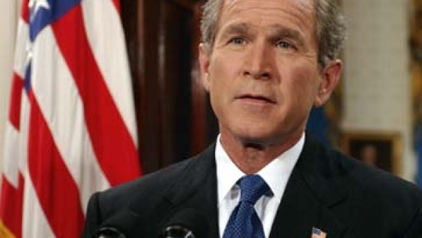 Bush will Heimatschutz-Ministerium