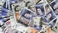 Infolge der Gerichts-Entscheidung hat sich das britische Pfund auf 1,25 Dollar verteuert.