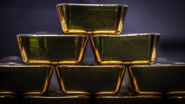 Anleger setzen auf Gold
