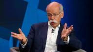 """""""Es ist kein Naturgesetz, dass Daimler ewig besteht"""", sagt Konzernchef Dieter Zetsche."""