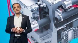 Führungswechsel an der Bosch-Spitze