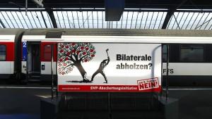 Die Schweiz zankt um die Zuwanderung