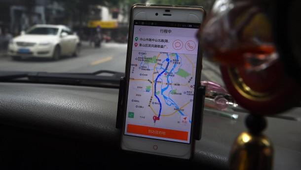 Chinesischer Fahrdienst nach mutmaßlichem Mord gestoppt