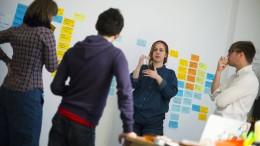 Viele Frauen führen Start-ups