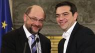 EU-Parlamentschef Schulz fordert Milde für Athen
