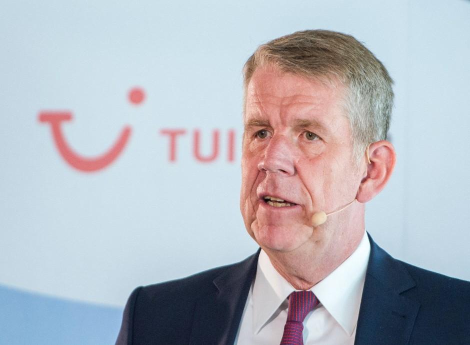 TUI-Chef Fritz Joussen