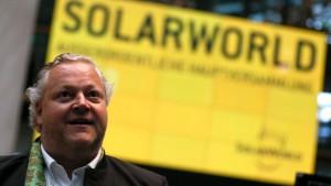 Die Solarworld AG entgeht der Pleite