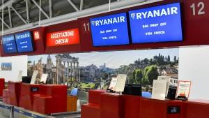 Deutsche Ryanair-Piloten treten erstmals in den Ausstand