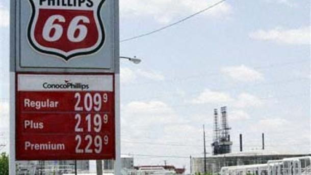 Conoco Phillips wird drittgrößter Erdgasproduzent Amerikas