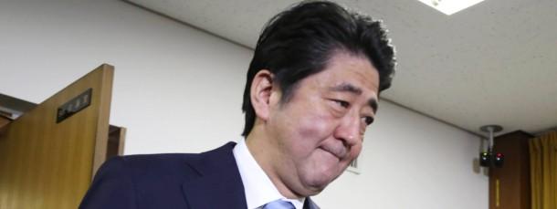 Japans Regierungschef Shinzo Abe hat die nächste Konjunkturspritze aufgezogen.