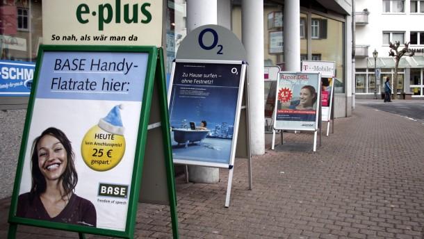 Wettbewerbshüter sehen Fusion von E-Plus und O2 kritisch