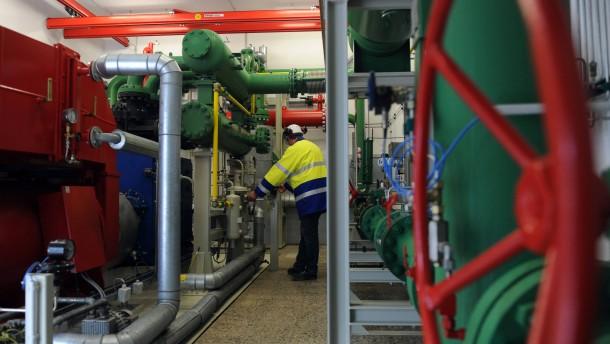 Strom aus Druckunterschieden im Gasnetz