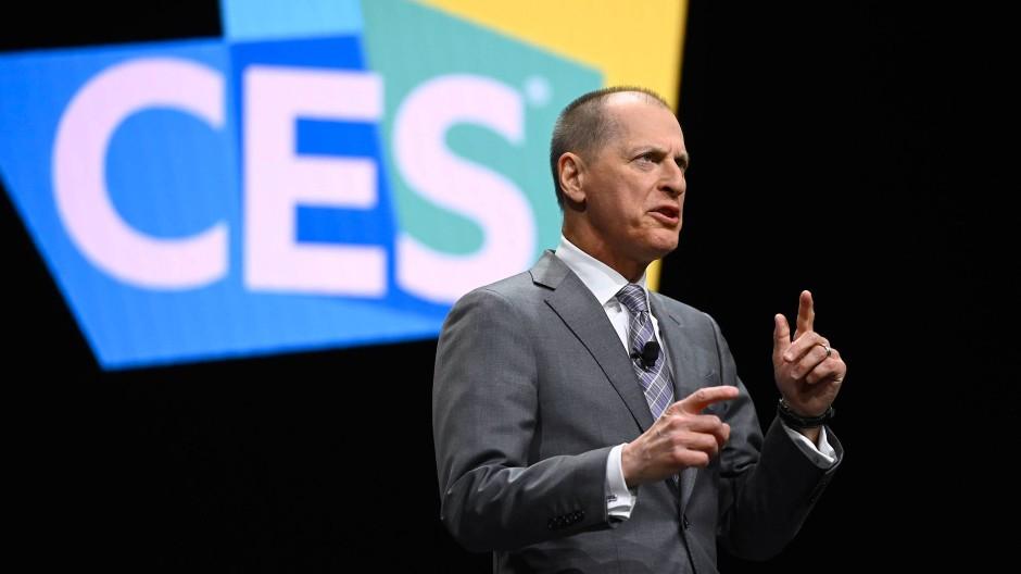 Shapiro auf der CES in 2020