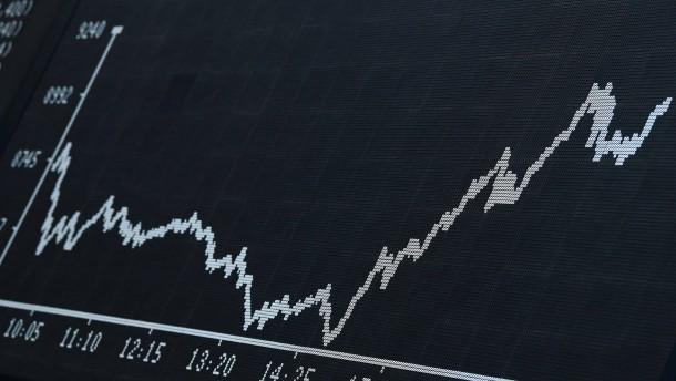 Die verwirrende Börsenrally