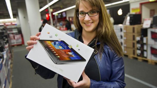 Samsung punktet gegen Apple