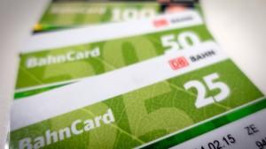 Bahn erweitert BahnCard-Rabatt