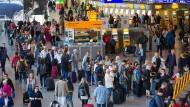 Mehr Passagiere am Flughafen Frankfurt