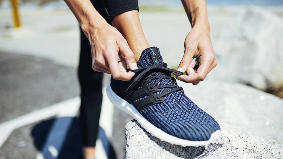 Sportschuhe von Adidas, dem nach Nike größten Sportartikelhersteller der Welt