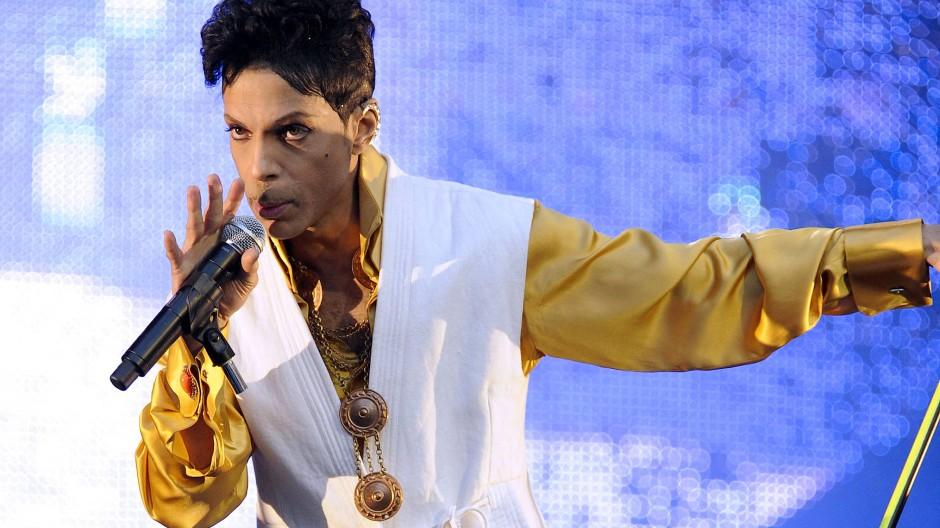 Prince im Juni 2011 in Paris