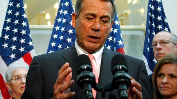Einigung im amerikanischen Schuldenstreit in Sicht