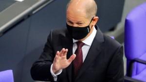 """Scholz: """"Gutes Zeichen"""" – AfD: """"Verfassungswidrig"""""""