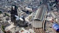 Touristenmagnet: Der Kölner Dom zieht jedes Jahr rund 6 Millionen Besucher an.