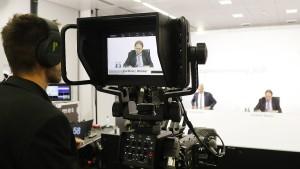 Der Aktionär darf Video-Schnipsel schicken