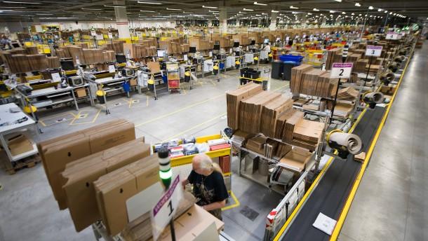 Amazon-Angestellte streiken wieder